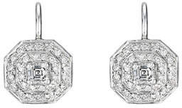 Penny Preville Deco Collection Diamond Octagon Earrings