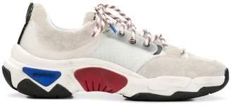 Diesel technical runner sneakers