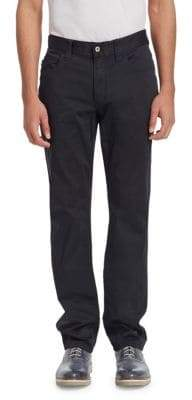 Emporio Armani COTTON5 POCKETS PANT BLACK