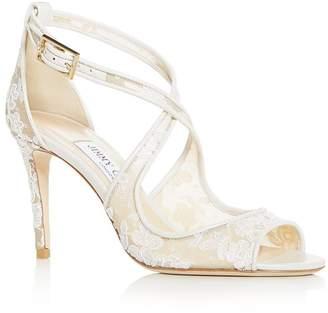 ff325c580be9 Jimmy Choo Women s Emily 85 Crisscross High-Heel Sandals