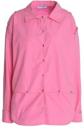 Opening Ceremony Detachable Cotton-Poplin Shirt
