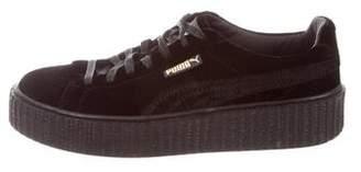 FENTY PUMA by Rihanna Creeper Velvet Sneakers