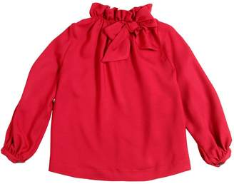 La Stupenderia Viscose Twill Shirt W/ Bow