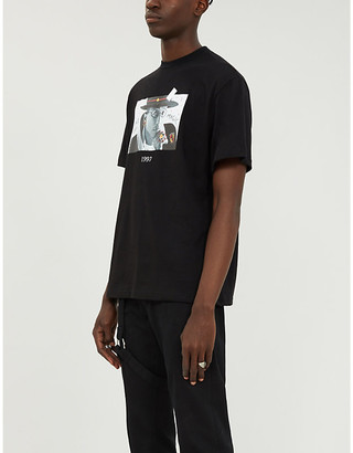 Selfridges Throwback N.E.R.D cotton-jersey T-shirt