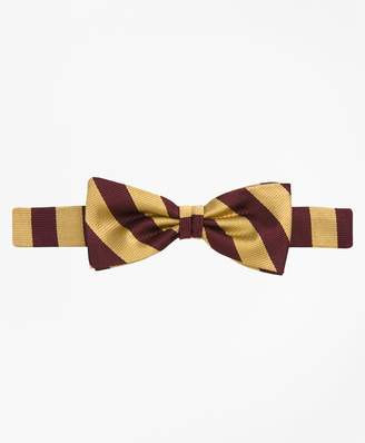 Brooks Brothers Guard Striped Bow Tie