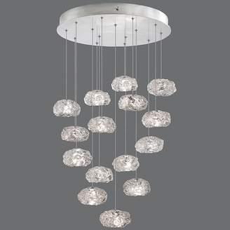Fine Art Lamps Natural Inspirations 15-Light Cluster Pendant Fine Art Lamps
