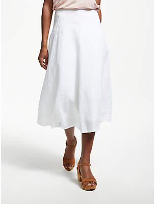 Boden Laurie Linen Skirt