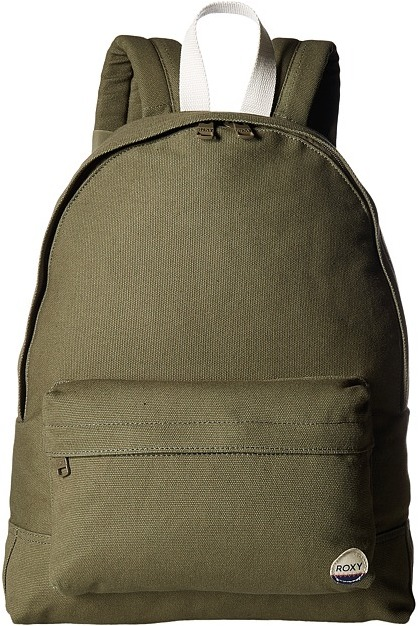 Roxy - Sugar Baby Canvas Solid Backpack Backpack Bags