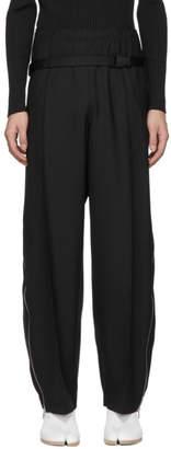 Maison Margiela Black Bum Bag Trousers
