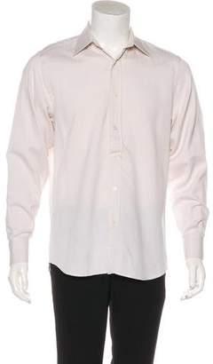 Saint Laurent Patterned Dress Shirt