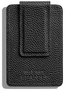 Shinola Men's Latigo Card Case with Magnetic Money Clip