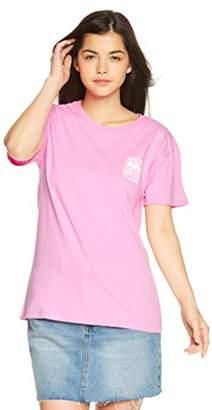 Billabong (ビラボン) - (ビラボン) BILLABONG [ レディース ] 半袖 Tシャツ (ロゴ プリント) [ AI013-209 / PRINT SS TEE ] おしゃれ AI013-209 PNK PNK_ピンク M