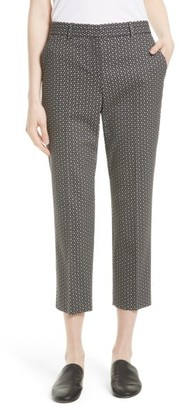 Women's Theory Treeca 2 Crop Stretch Wool Trousers $345 thestylecure.com