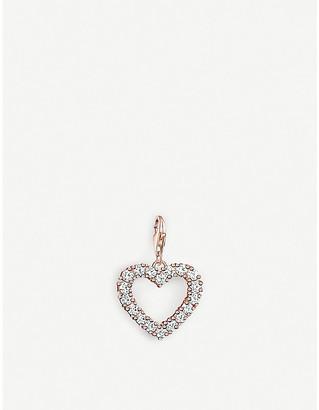 Thomas Sabo Charm Club cut-out rose-gold heart charm
