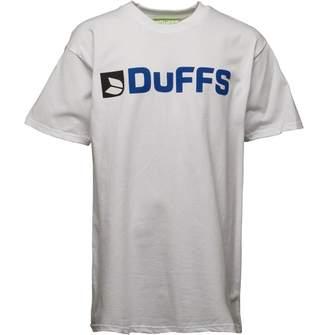 DuFFS Boys Horizontal Logo T-Shirt White