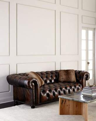 At Neiman Marcus Bernhardt Curtis Tufted Chesterfield Sofa