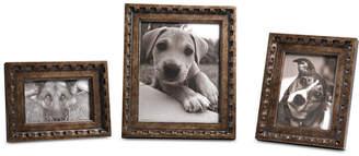 Uttermost Kalya Antiqued Bronze Photo Frames, Set of 3