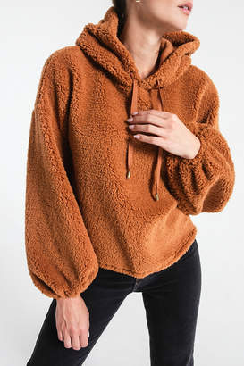 Z Supply Sherpa Hoodie Pullover