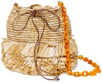 Carolina Santo Domingo Corallina Small Bucket Bag
