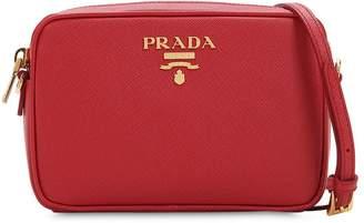 Prada Saffiano Lux Leather Camera Bag