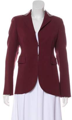 Akris Long Sleeve Wool Blazer