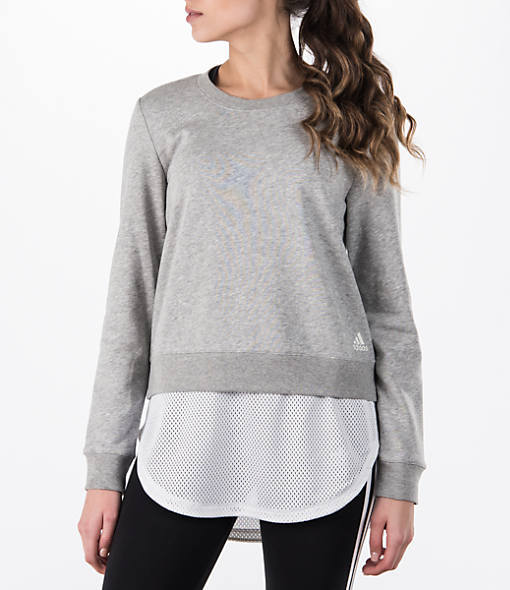 Adidas Women's Training Dual Sweatshirt