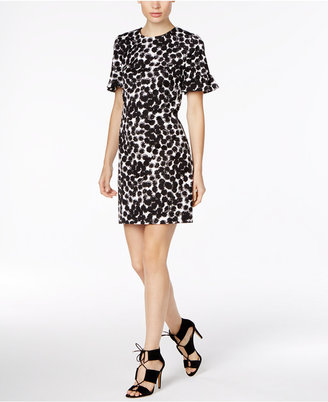 Trina Turk Darling Printed Ruffle-Sleeve Dress, A Macy's Exclusive Style $298 thestylecure.com