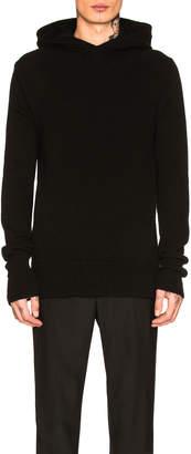 Neil Barrett Hooded Cashmere Sweater