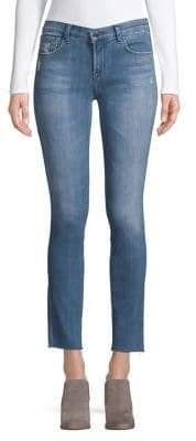 J Brand Mid-Rise Ankle Jeans