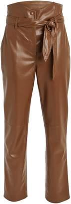 Nanushka Ethan Tailored Vegan Leather Pants