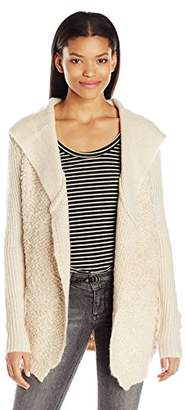 Rip Curl Junior's Swept Away Cardigan Hooded Sweater