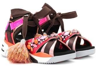 Marc Jacobs Somewhere embellished sandals