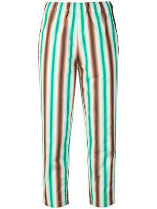 Marni cropped striped trousers