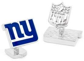 Cufflinks Inc. Cufflinks, Inc. NFL Palladium Edition New York Giants Cuff Links