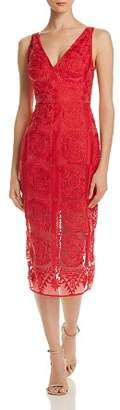 Finders Keepers Spectrum Embroidered Dress