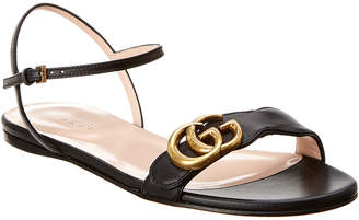 Gucci Interlocking G Leather Sandal