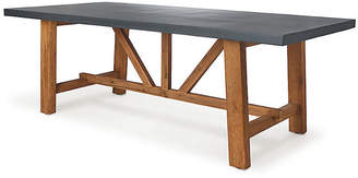 Napa Home Telluride Outdoor Dining Table - Gray