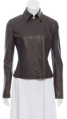 Valentino Tailored Leather Jacket