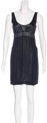 Narciso Rodriguez Sleeveless Cut Out Dress