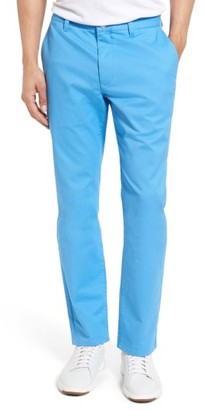 Men's Bonobos Slim Fit Washed Stretch Cotton Chinos $98 thestylecure.com