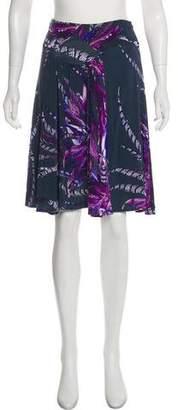 Just Cavalli Knee-Length Printed Skirt
