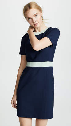 Tory Burch Ponte Colorblock Dress