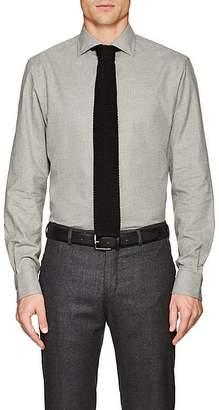 Ralph Lauren Purple Label Men's Houndstooth Cotton Shirt