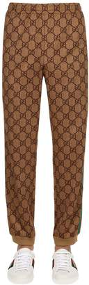 Gucci Gg Cotton Blend Sweatpants