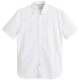 MANGO Printed regular-fit shirt