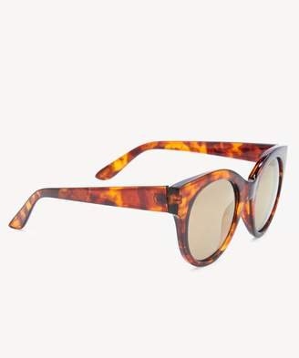 Sole Society Linea Frosted Cat Eye Sunglasses