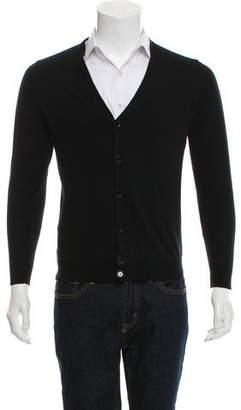 Louis Vuitton Woven Button-Up Cardigan