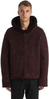 Yeezy Hooded Shearling Jacket