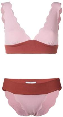 Marysia Swim wide Santa Clara bikini set