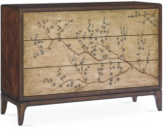 Caracole Blossom Chinoiserie Dresser - Cherry